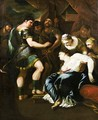 The Death of Lucretia - (after) Luca Giordano
