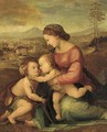 The Madonna and Child with the infant St. John the Baptist - (after) Fra Bartolommeo Della Porta