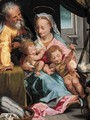 The Holy Family with the Infant Saint John the Baptist - Federico Fiori Barocci