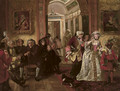 Dr Johnson in Lord Chesterfield's waiting room - (after) Edward Matthew Ward
