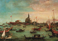 The Bucintoro at San Nicol del Lido, Venice - (after) Francesco Guardi
