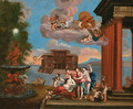The Toilet of Venus 2 - (after) Francesco Albani