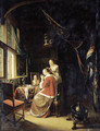 A woman at her toilet - Gerrit Dou