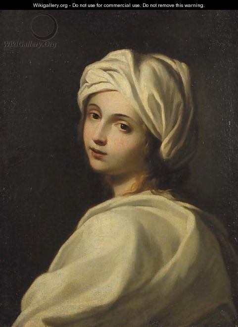 Portrait of Beatrice Cenci - (after) Guido Reni