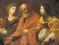 Lot and his daughters - (after) Guido Reni