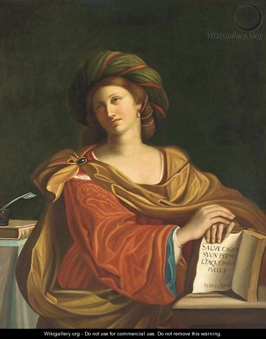 The Samian Sibyl - Giovanni Francesco Guercino (BARBIERI)