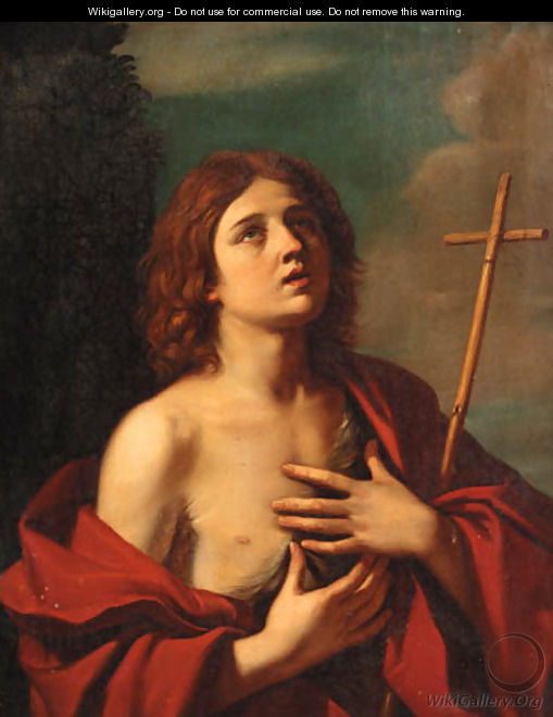 Saint John the Baptist 3 - Giovanni Francesco Guercino (BARBIERI)