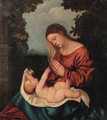 The Madonna and Child - (after) Tiziano Vecellio (Titian)