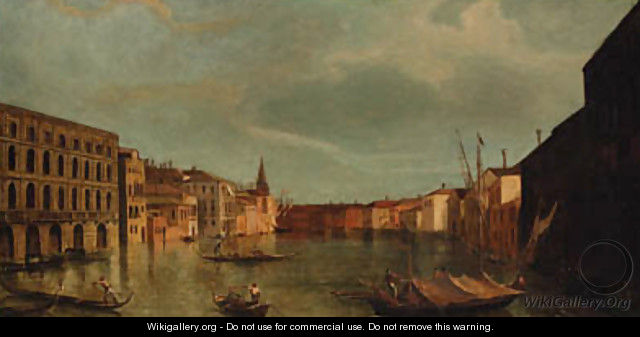 The Grand Canal, Venice, from the Ca
