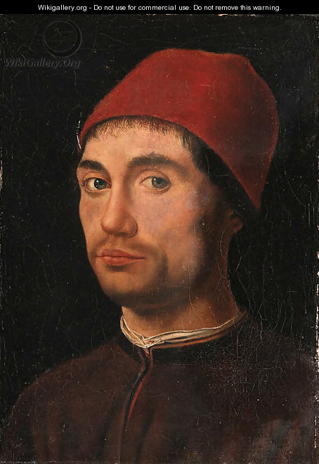 Portrait of a man 2 - Antonello da Messina Messina