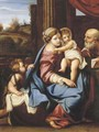 The Montalto Madonna - (after) Annibale Carracci