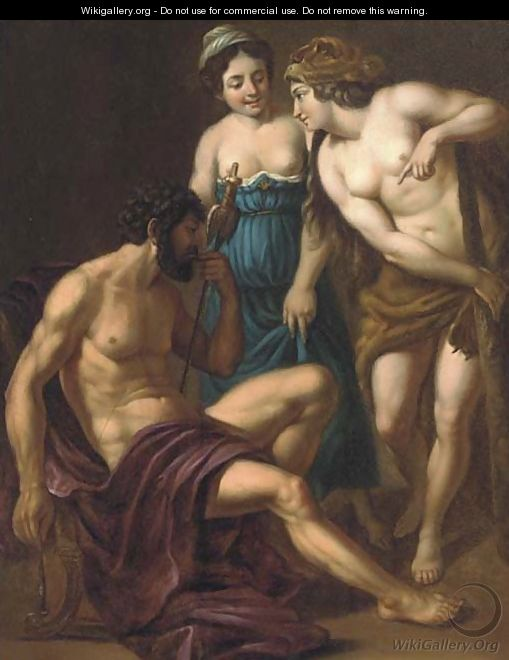 Hercules and Omphale - (after) Alessandro Turchi