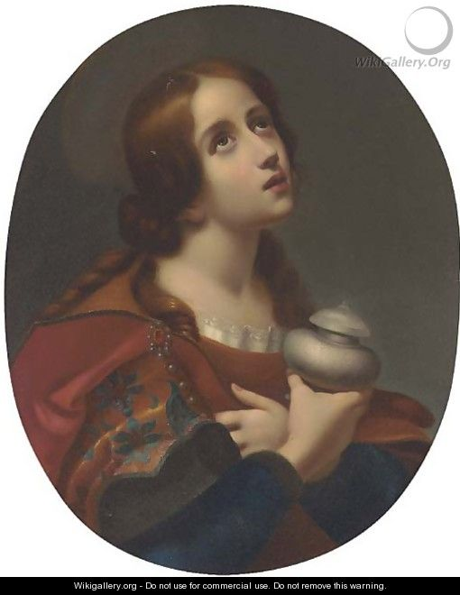 The Penitent Magdalen 7 - (after) Carlo Dolci