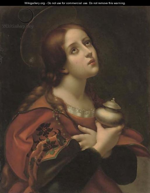 The Penitent Magdalen 3 - (after) Carlo Dolci
