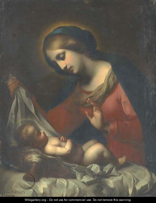The Madonna of the Veil - (after) Carlo Dolci