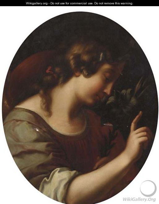 The Angel of the Annunciation 2 - (after) Carlo Dolci
