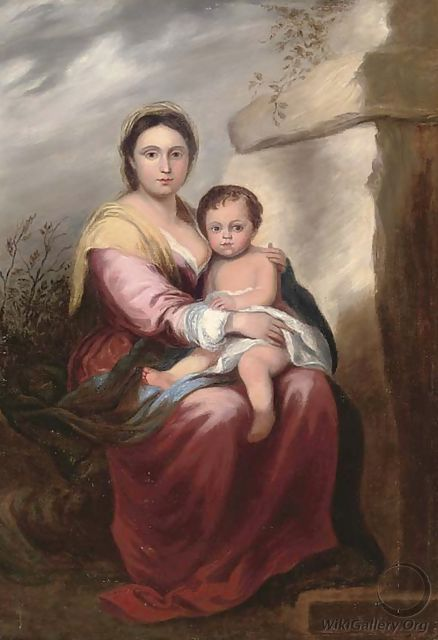 The Madonna and Child - Bartolome Esteban Murillo