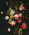 A swag of tulips - (after) Cornelis De Heem