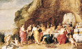 The Feast of Achelous - Adriaan van Stalbemt