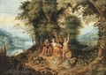 An Allegory of the Four Seasons - Abraham Govaerts