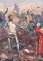 The Surrender of John II of France at the Battle of Poitiers - John Cameron