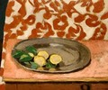 Lemons on a Pewter Plate - Henri Matisse