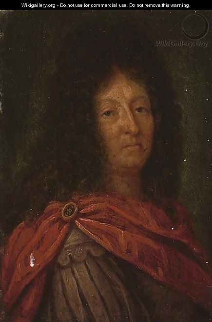 Portrait of a Louis XIV, bust-length - (after) Hyacinthe Rigaud