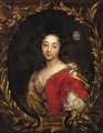 Portrait of a lady, said to be the Marquisse de Rochebaron - (after) Hyacinthe Rigaud