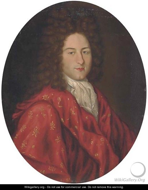Portrait of a gentleman - (after) Hyacinthe Rigaud
