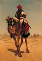 The Camel Rider - (after) Horace Vernet