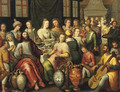 The Marriage at Cana - (after) Hieronymus II Francken