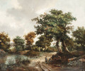 Untitled - (follower of) Ruisdael, Jacob I. van