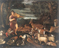 Orpheus charming the Animals - (after) Jacopo Bassano (Jacopo Da Ponte)
