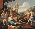A bacchanal - (after) Giulio Carpioni