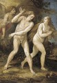The Expulsion of Adam and Eve from the Garden of Eden - (after) Giuseppe (d'Arpino) Cesari (Cavaliere)