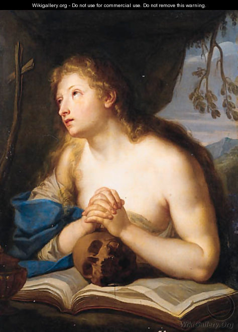 The Penitent Magdalen - (after) Giovanni Giuseppe Dal Sole