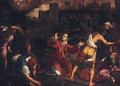 The Stoning of Saint Stephen - (after) Gregorio Pagani