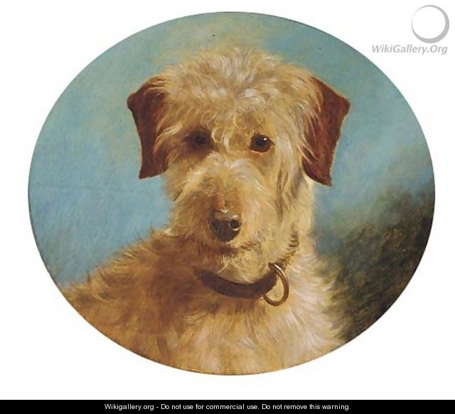 A terrier - (after) George Earl