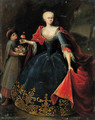 Portrait of a noblewoman - (after) Georg Desmares