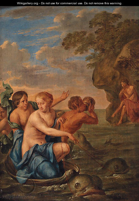 Galatea and Polyphemus - (after) Gerard The Elder Hoet