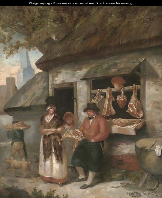 The country butcher - (after) George Morland