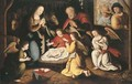 The Nativity - (after) Gillis Coignet