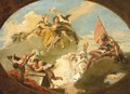 The Apotheosis of Francesco Barbaro - (after) Giovanni Battista Tiepolo