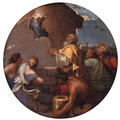 God the Father appearing to Noah - (after) Giovanni Benedetto Castiglione