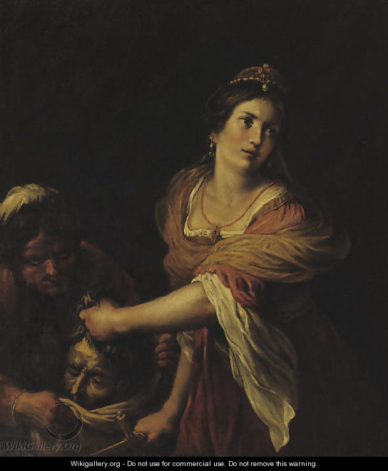 Judith and Holofernes - (after) Giovanni Francesco Guerrieri