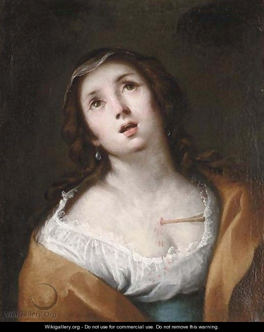 Saint Christina - (after) Francesco Guarino