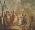 The Entrance of Alexander the Great into Babylon - (after) Francesco Fontebasso
