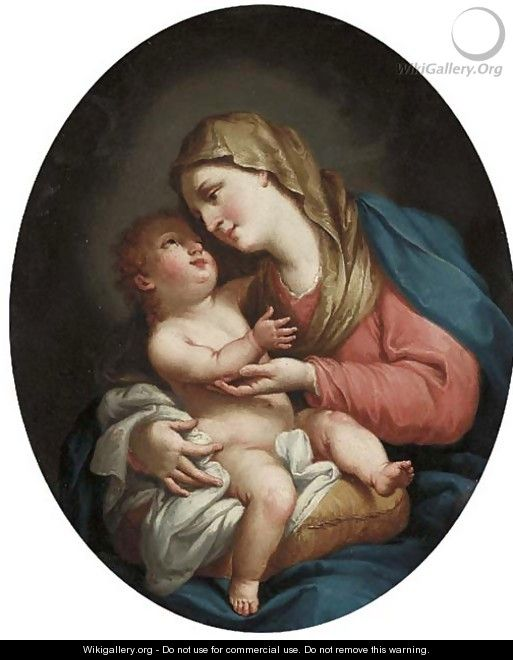 The Madonna and Child - (after) Francesco Fernandi