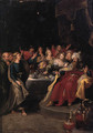 Belshazzar's Feast - (after) Frans II Francken