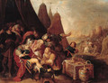 Alexander wounded by an arrow - (after) Frans II Francken